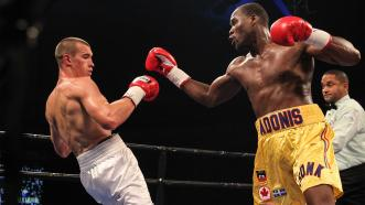 Adonis Stevenson and Tommy Karpency
