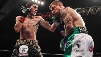 Alejandro Gonzalez Jr. and Carl Frampton