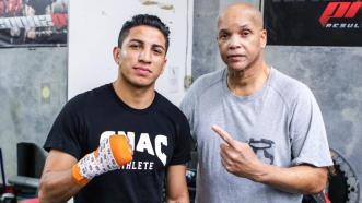 Mario Barrios and Virgil Hunter