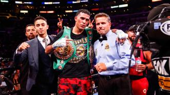 Super Middleweight Champ David Benavidez defends WBC Title in homecoming fight vs Roamer Alexis Angulo April 18 on SHOWTIME