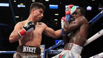 Adrien Broner and Mikey Garcia