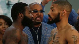 Adrien Broner and Ashley Theophane