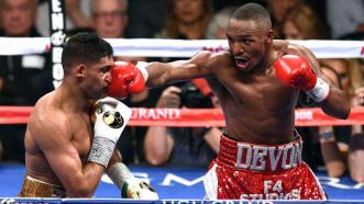 Devon Alexander and Amir Khan