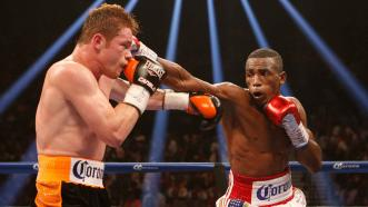 Erislandy Lara and Canelo Alvarez
