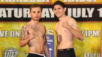 Carl Frampton and Alejandro Gonzalez Jr.
