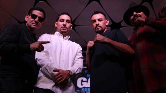 Angel Garcia, Danny Garcia, Robert Guerrero and Ruben Guerrero