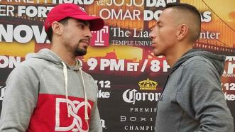 Danny Garcia and Samuel Vargas