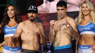 Robert Guerrero and David Emanuel Peralta