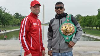 Lucian Bute and Badou Jack