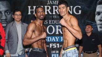 Jamel Herring and Luis Eduardo Flores