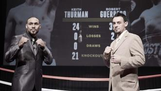 Keith Thurman and Robert Guerrero