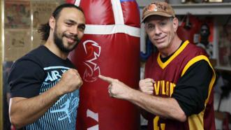 Keith Thurman and Dan Birmingham