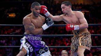 Lamont Peterson and Danny Garcia