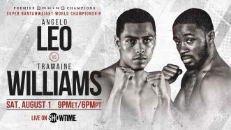 Tramaine Williams to Face Angelo Leo in Saturday