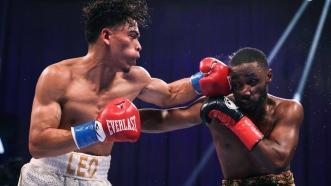 Angelo Leo Dominates Tramaine Williams to become World Champion