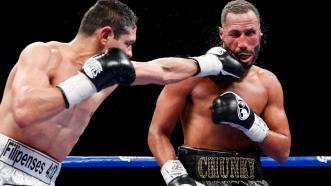 James DeGale and Rogelio Medina