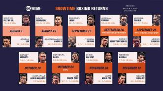 PBC Boxing Returns With a Star-Studded Schedule