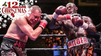 Deontay Wilder and Johann Duhaupas