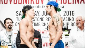 Ruslan Provodnikov and John Molina Jr.