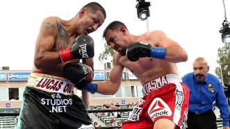 Robert Guerrero and Aron Martinez
