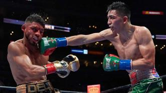 Leo Santa Cruz and Abner Mares