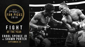 Spence vs Porter earns PBC's Fight Of The Year Award for 2019
