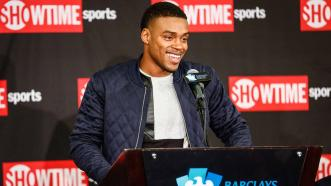 Errol Spence Jr. and Keith Thurman Share Podium Now, Hope to Share a Ring in Blockbuster Unification bout in 2018