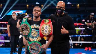 Errol Spence Jr. & Derrick James