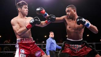 Errol Spence Jr. and Alejandro Barrera