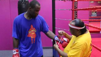 Adonis Stevenson and Tiger Paul