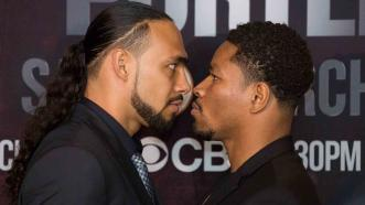 Keith Thurman and Shwan Porter
