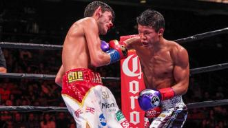 Jamie McDonnell and Tomoki Kameda