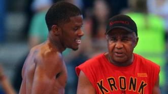 Tony Harrison and Emanuel Steward