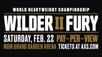 Deontay Wilder and Tyson Fury meet in Heavyweight Title Rematch Feb. 22 on FOX and ESPN+ PPV