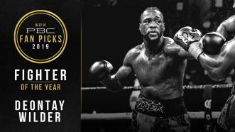 Deontay Wilder wins PBC's Fighter Of The Year Award for 2019