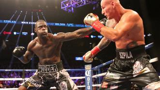 Deontay Wilder and Artur Szpilka