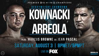 Kownacki vs Arreola Preview: August 3, 2019 - PBC on FOX