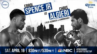 Spence Jr. vs Algieri preview: April 16, 2016