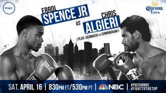 Spence Jr. vs Algieri preview: April 16, 2016