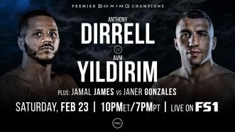 Dirrell vs Yildirim PREVIEW: February 23, 2019 - PBC on FS1