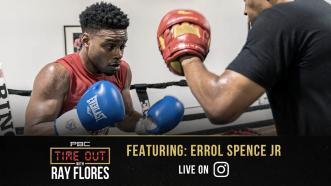 Errol Spence Jr. joins PBC's Time Out with Ray Flores