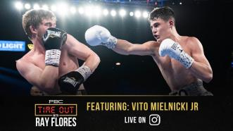 Vito Mielnicki Jr. is eager to fight on the big stage