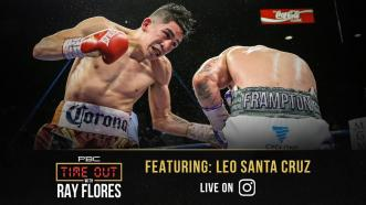 Leo Santa Cruz Fights for His Family, His Fans and His Future
