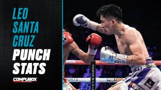 "Leo Santa Cruz Defines the Term ""Punches in Bunches"""