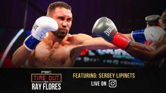 Sergey Lipinets Is Ready for War on April 10th