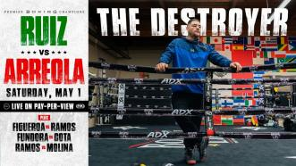 "Andy Ruiz Jr. Tells the Story of How He Became ""The Destroyer"""