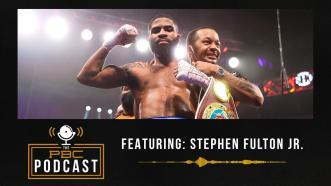 It's Strap Season For Stephen Fulton Jr.