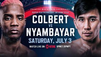 Colbert vs Nyambayar PREVIEW: July 3, 2021