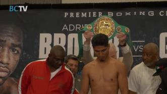 Broner - Garcia Weigh In