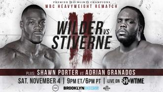 Wilder vs Stiverne 2 Preview: November 4, 2017